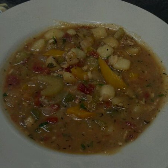 Manhattan Clam Chowder - 22 North, Wrightsville Beach, NC