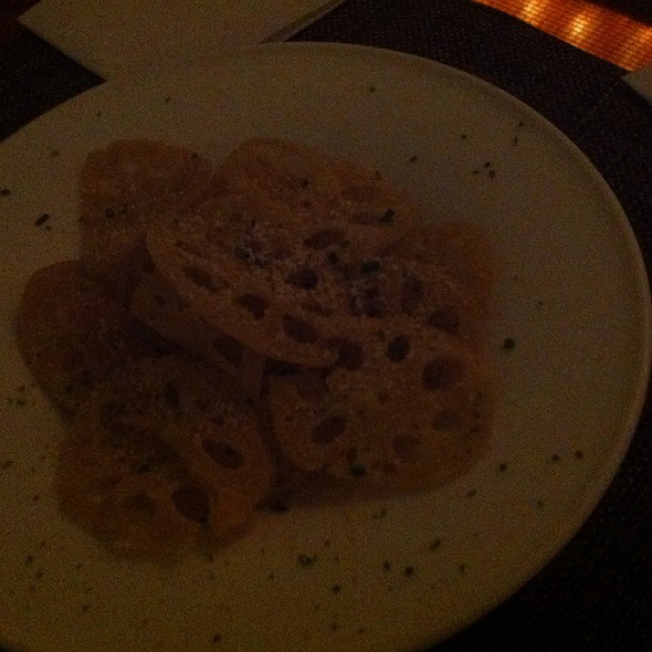 Lotus Root Chips @ Pops for Champagne
