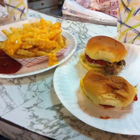 Sliders @ White Manna Hamburgers
