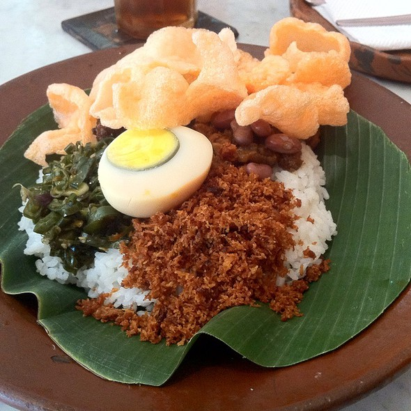 Nasi Ponggol @ Pawon Sae Bogana Milka