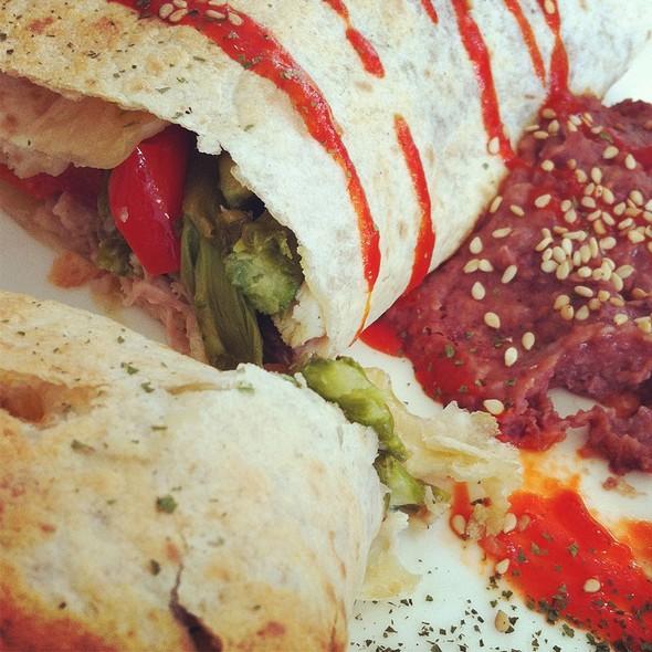Taco Mex De Pollo Y Verduras