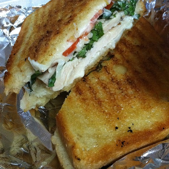 chicken panini @ Lucca Wood Fired Pizza