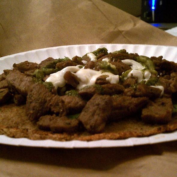 Quinoa Arepas w/ Beef @ Palenque Columbian Food Truck