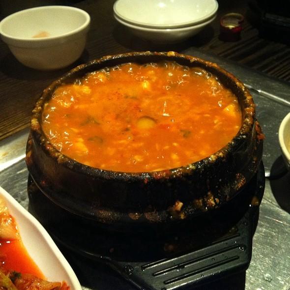 Seafood Tofu Soup @ BCD Tofu House
