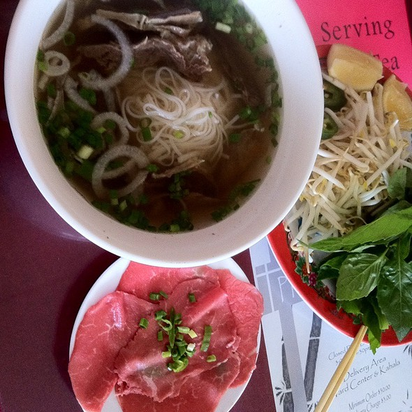 Pho with Rare Meat