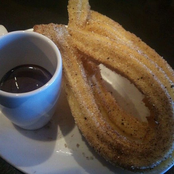 Churros & Thick Hot Chocolate @ Xoco