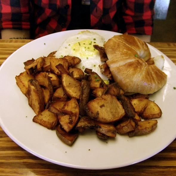 Bacon, Egg and Cheese Croissant - LuLu's, Richmond, VA