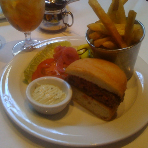 Burgers and Fries @ Spruce