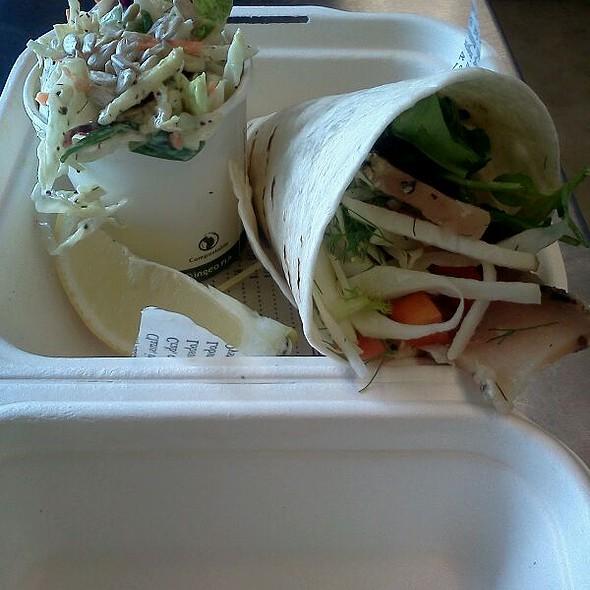 Tuna Taco Rolls @ Joe's Seafood Bar