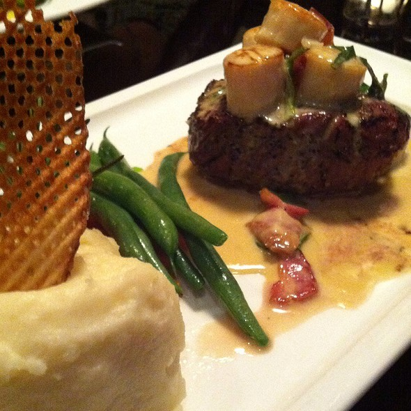 Sirloin And Scallops - Nautical Nellies Steak & Seafood House, Victoria, BC