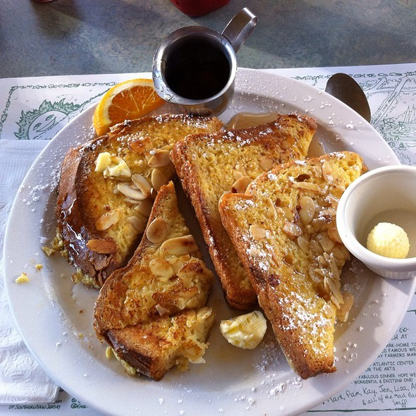 Almond And Orange Batter French Toast @ Mad Batter