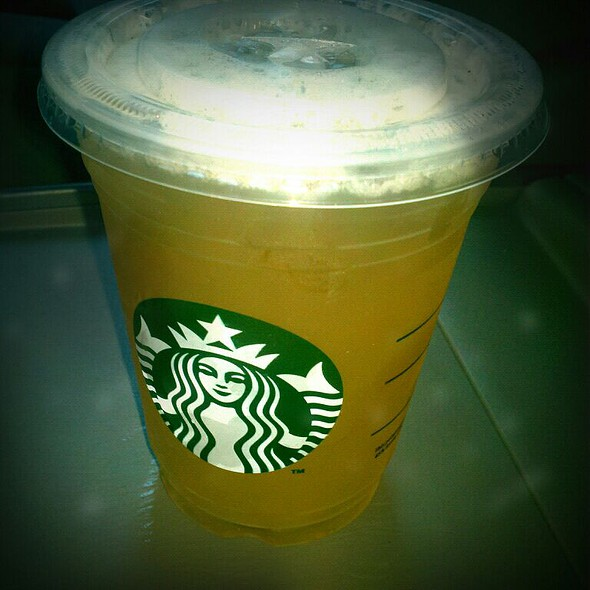 Tazo Shaken Iced Passion Tea Lemonade at Starbucks