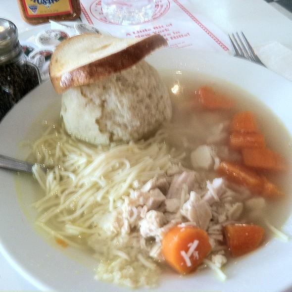 Matzoh Ball Soup @ Steve's Deli