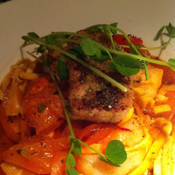 Seafood Linguini @ One99 Restaurant