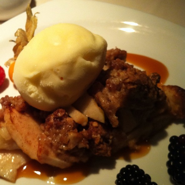 Apple Crumble @ One99 Restaurant