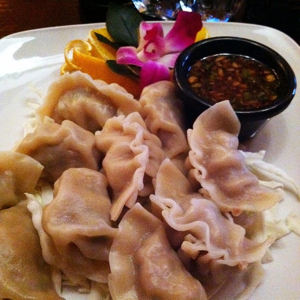 Steamed Dumplings @ Benson's Steak & Sushi
