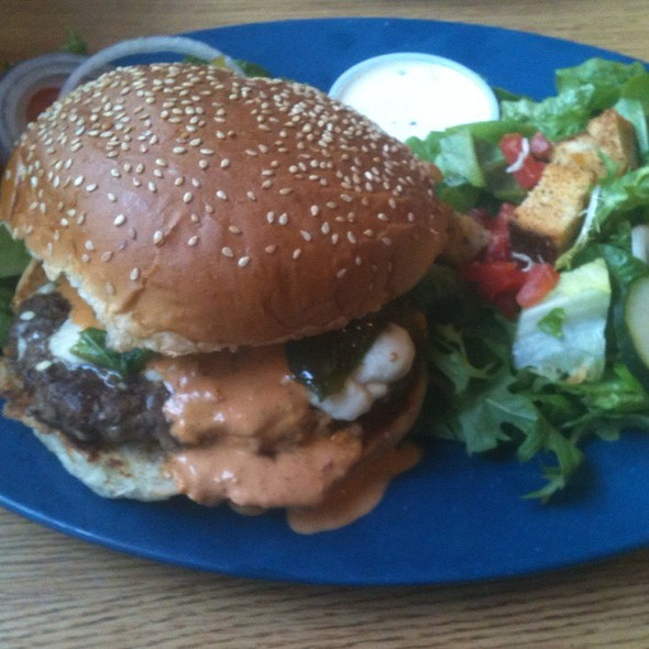 Mexican Burger @ Zorro's Cafe & Cantina