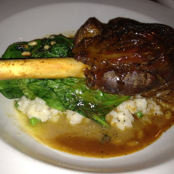 Lamb Osso Bucco - Bistro 18, Montclair, NJ