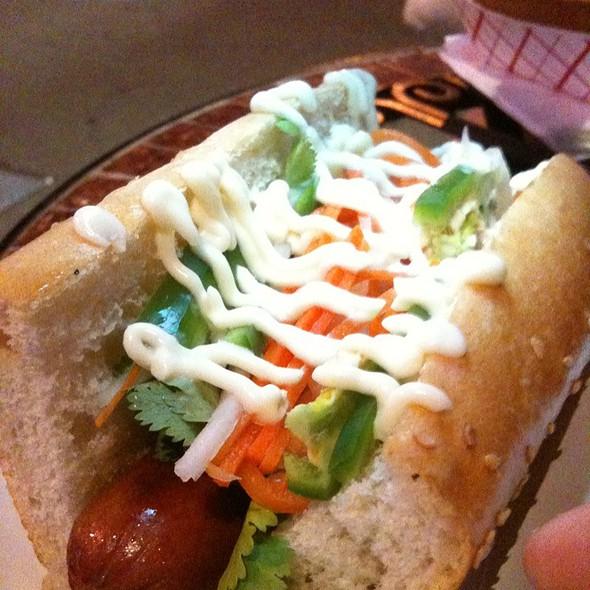 Banh Mi Hot Dog @ Doggy-Style Hotdogs