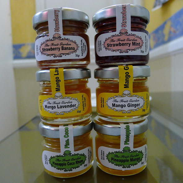 Assorted Fruit Jams @ The Fruit Garden