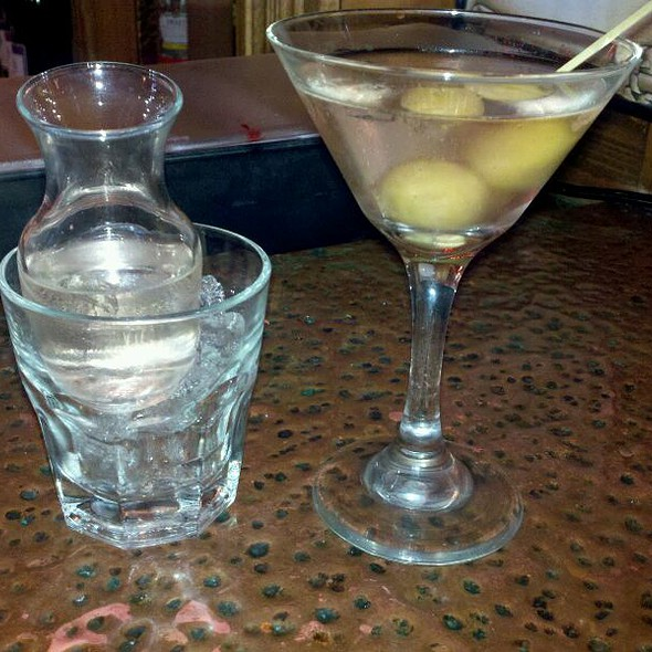 Dirty Grey Goose Martini - McCoole's Red Lion Inn, Quakertown, PA