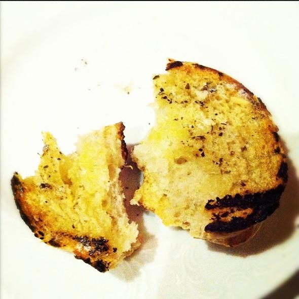 Garlic Bread @ Taverna Mykonos