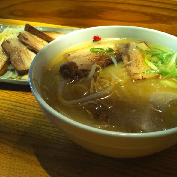 Totto Miso Ramen + broiled Char Slu Pork @ Totto Ramen