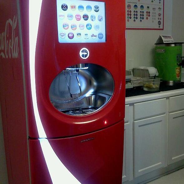 Coca Cola Freestyle Soda Fountain