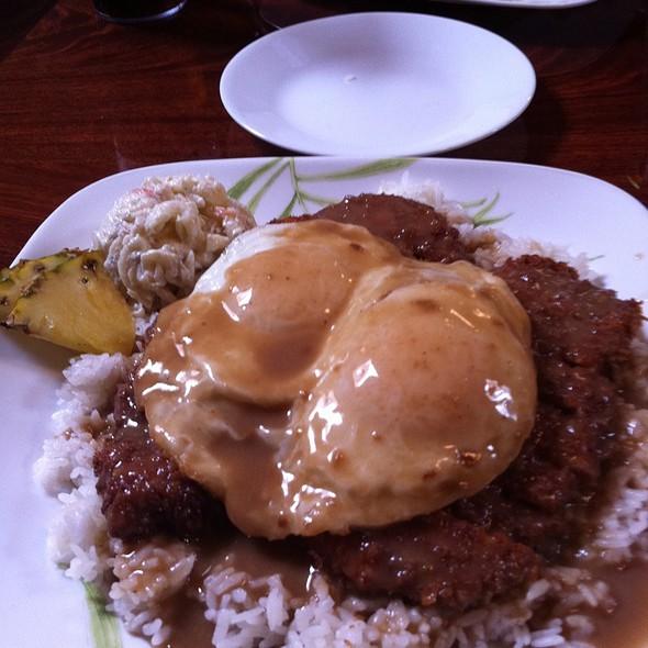 Chicken Katsu Loco Moco @ Hukilau