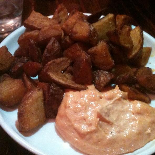 Spicy potatoes @ Cafe Ba-Ba-Reeba