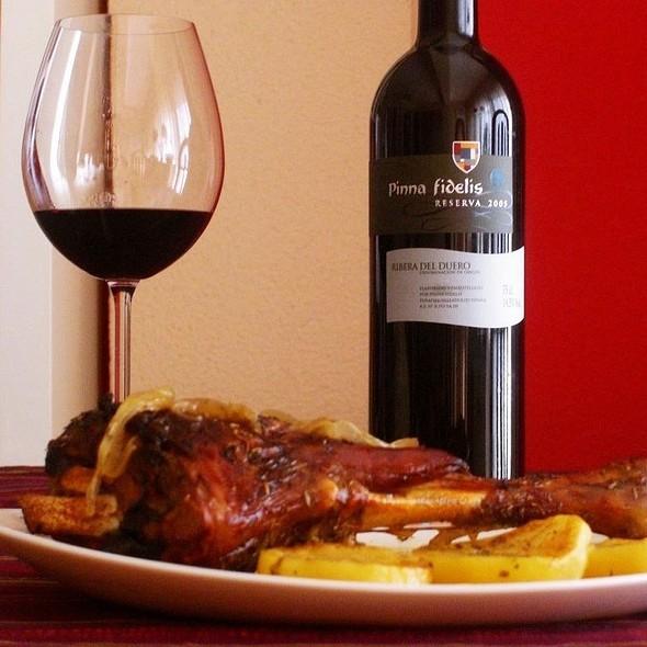 Cocinadelachata menu san vicente del raspeig foodspotting - Pierna de cordero lechal ...
