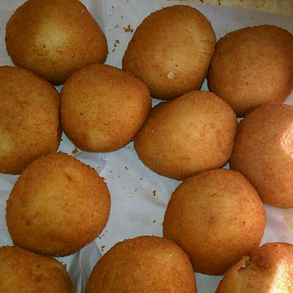 Potato Balls @ Portos Bakery
