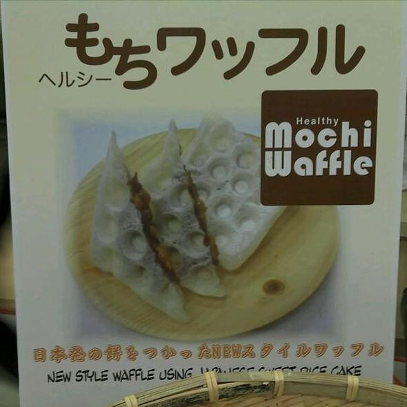 Mochi Waffle @ Shirokiya