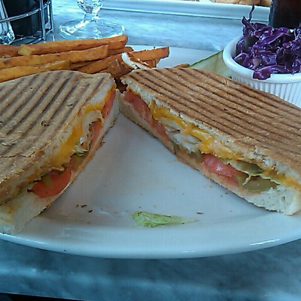 Mexican Chicken Panini @ Chestnut Cafe & Eatery
