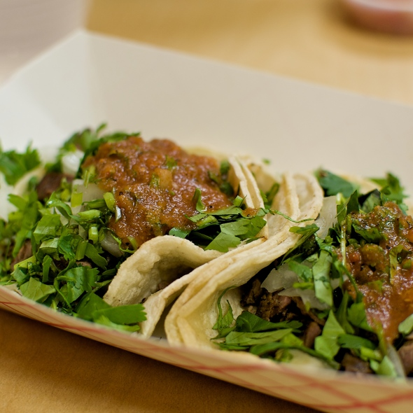 Carne Asada Tacos @ Taqueria Chihuahua