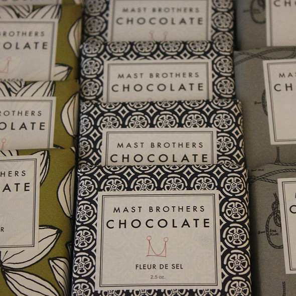Assorted Chocolate Bars @ S.F. Ferry Building