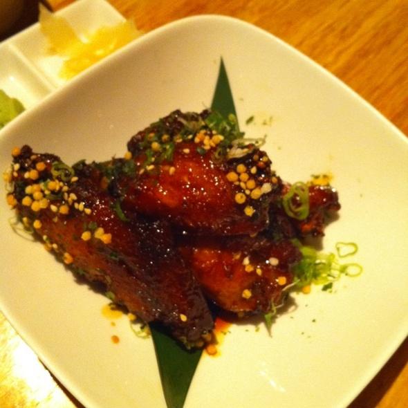 Glazed Chicken Wings @ Ebisu Restaurant