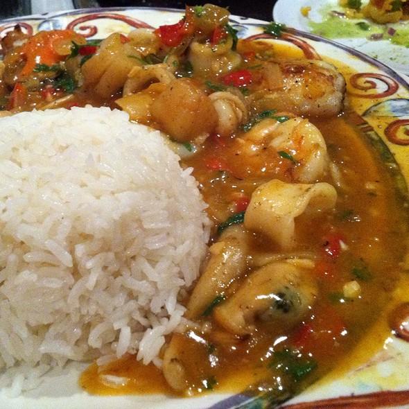 Pescado a lo Macho @ dx peruvian restaurant