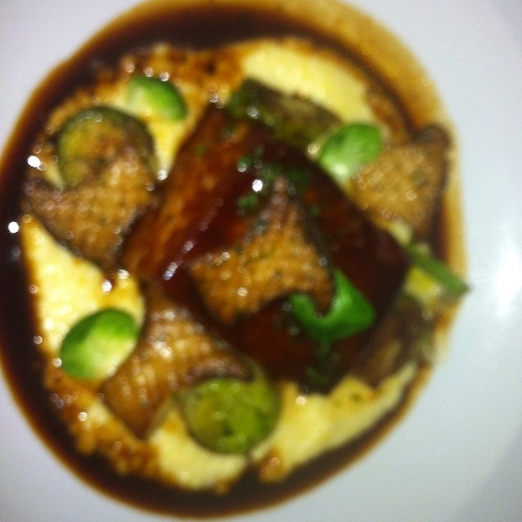 Pork Belly @ bouchon bistro