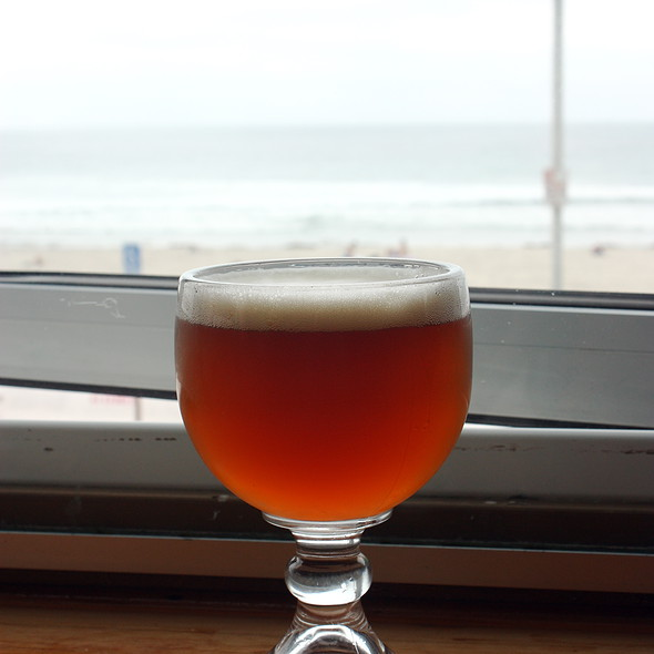 Beer @ pacific beach shore club