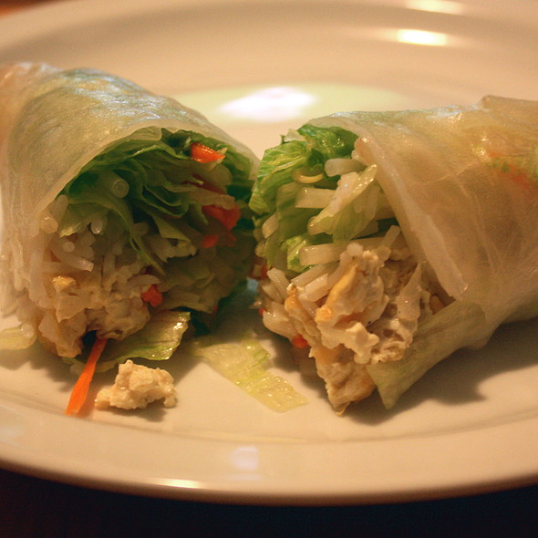 Fresh Spring Rolls @ Taste of Thai