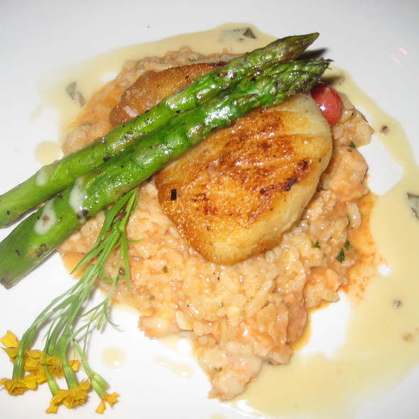 Pan-Seared Chilean Sea Bass - Vines Grille and Wine Bar, Orlando, FL