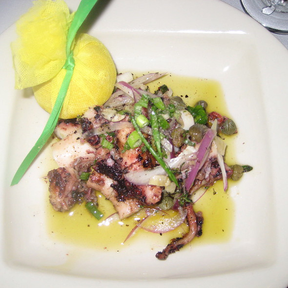 Grilled Octopus - Vines Grille and Wine Bar, Orlando, FL