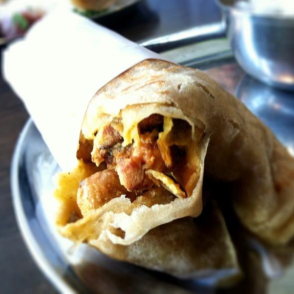 kati rolls @ Kasa Indian Restaurant