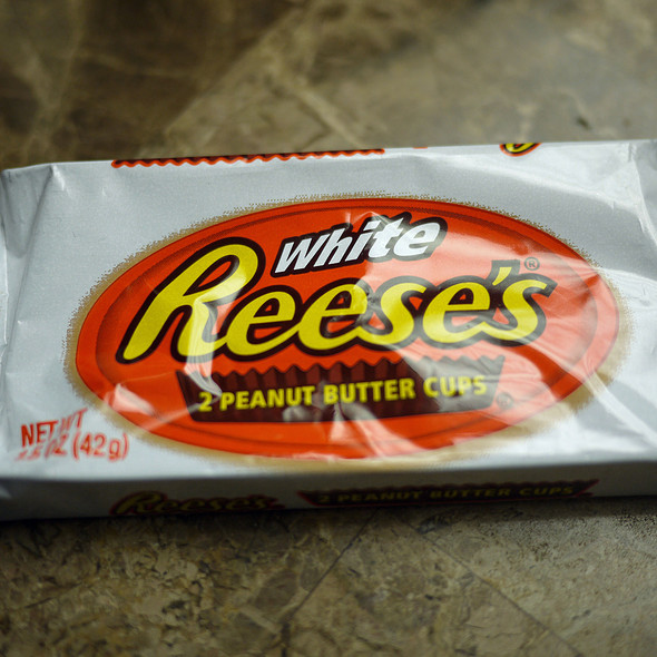 White Reese's Peanut Butter Cups @ Safeway