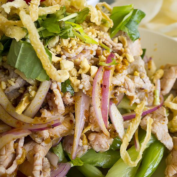 Vietmanese Rare Beef Salad