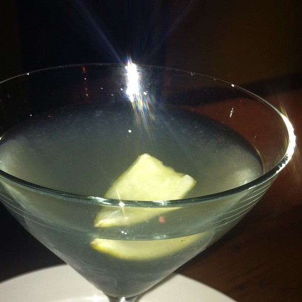Martini @ District of Pi Pizzeria