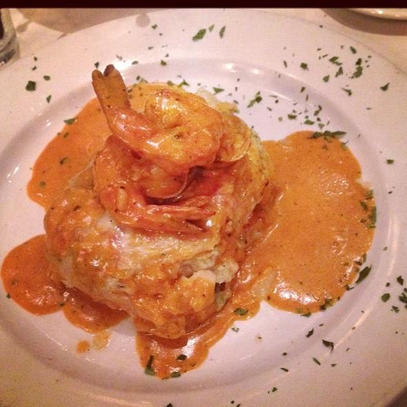 Seafood Lasagna - Mia Bella Trattoria - Green Street, Houston, TX
