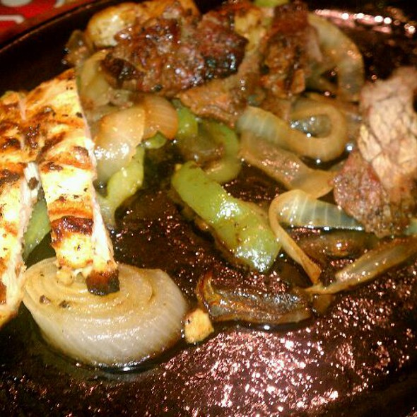 Chicken & Steak Fajitas @ Chili's Grill & Bar
