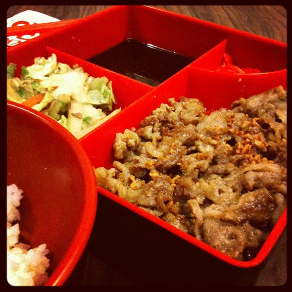 Garlic Beef Misono @ Tokyo Tokyo